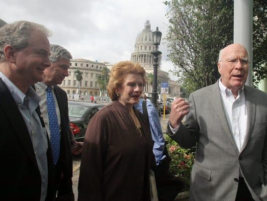 US congressional delegation Cuba