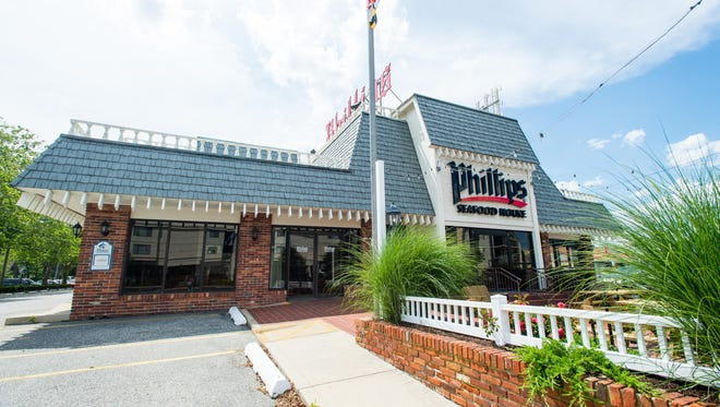 Phillips Seafood House in north Ocean City was renovated to Bayside Cantina this spring. The building is now listed as for sale.