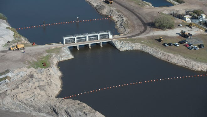 On a tour with the South Florida Water Management District, an aerial view of Kissimmee River Restoration Project is seen on March 24, 2017, in central Florida. The Kissimmee River Restoration Project, a joint effort by the South Florida Water Management District and the U.S. Army Corps of Engineers, is a plan to reverse the effects of a channelization of the river done in the 1960s. The channel damaged the ecosystem of the winding natural river, though it helped prevent severe flooding.