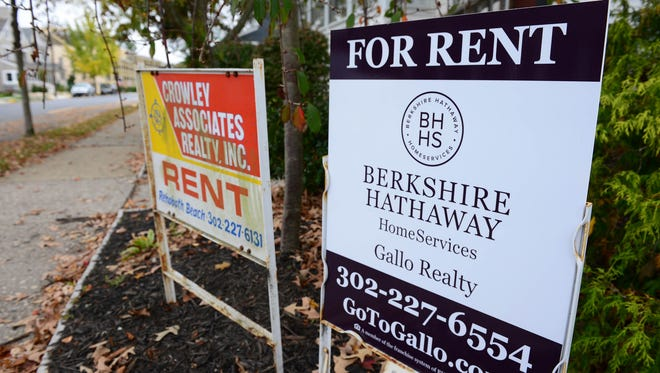 A home in Rehoboth Beach, Del. for Rent. Tuesday, Nov. 7, 2017.
