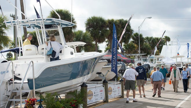 The 45th annual Stuart Boat Show will take place Jan. 11-13 along Old Dixie Highway in Stuart. The show features over 200 exhibitors selling boats, accessories, clothing, jewelry, fishing gear and more. For more information, go to stuartboatshow.com.