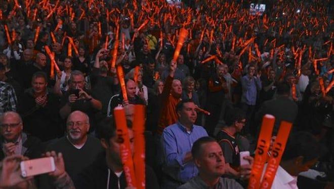 Portland Trail Blazers fans.