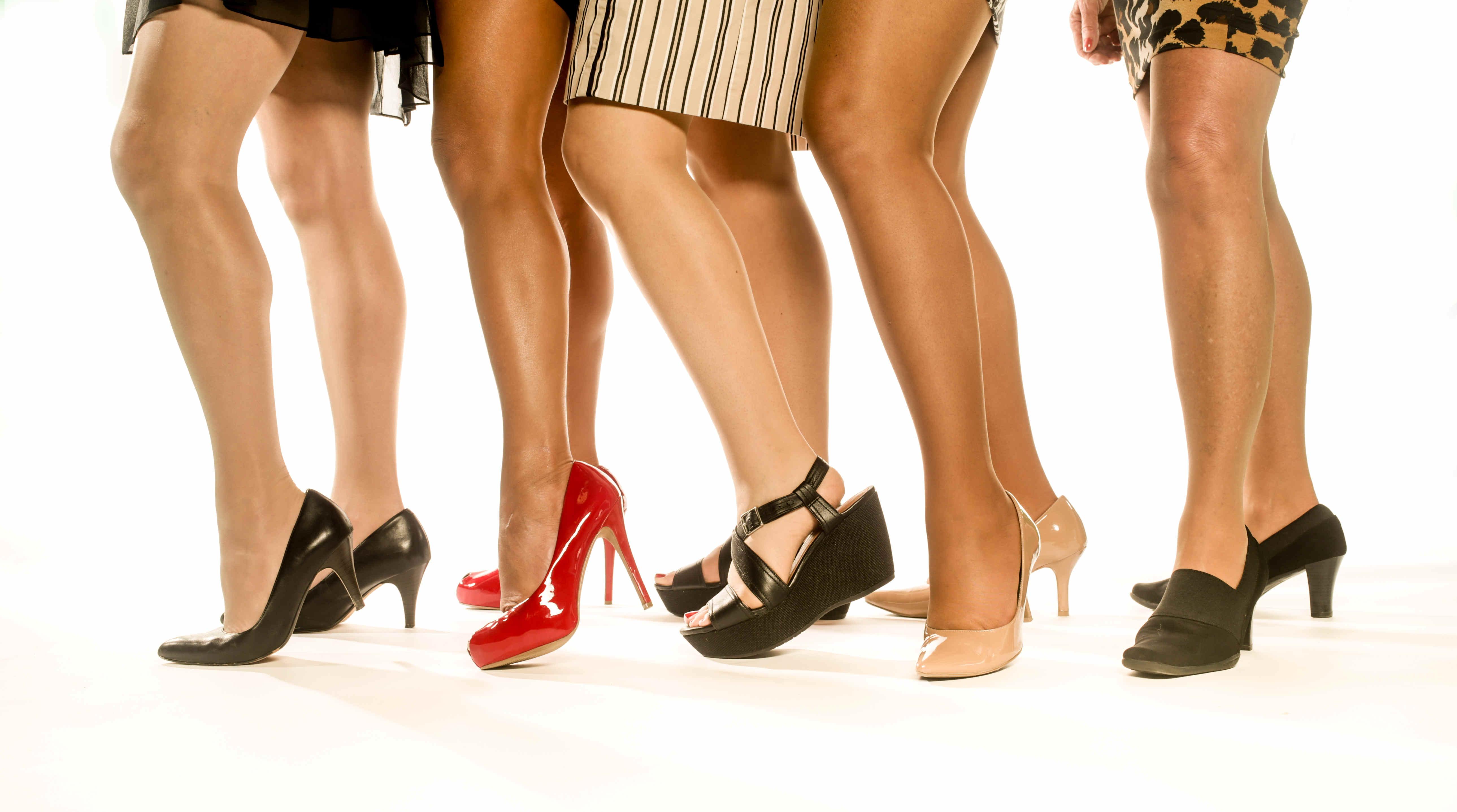 nudisten fotos nylons in high heels