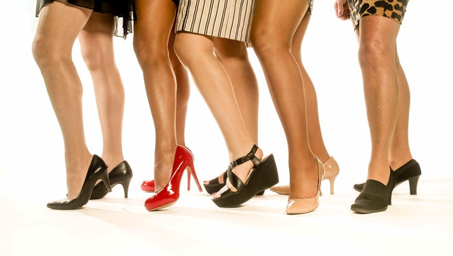 Indy Star staffers  wore pantyhose for a day and lived to tell about it.