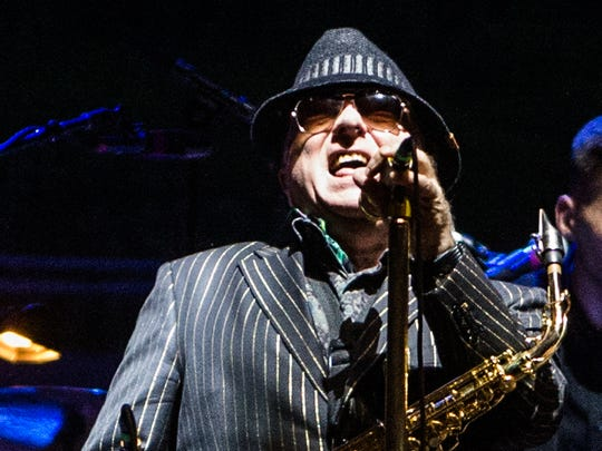 Van Morrison performs as the Outlaw Music Festival