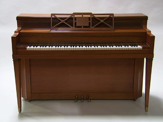 Gaga's first piano has already been part of an exhibit