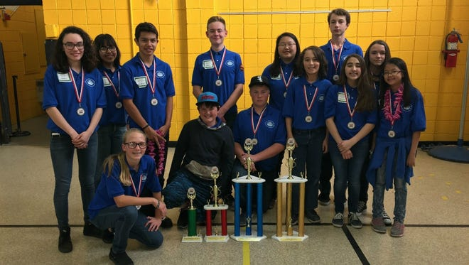 Carlsbad Intermediate School students competed in the annual Electric Car Challenge on Nov. 19.