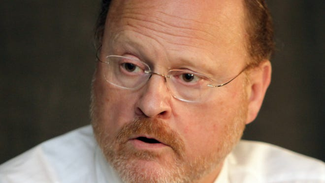 Joseph J. Lhota with the Editorial Board in 2012 when he was MTA Chairman and CEO.