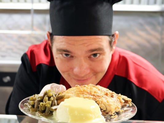 IU Health BMH Chef Nathan Bel