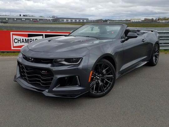 You'll know the Camaro ZL1 by the carbon fiber hood