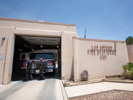 One of the GO bond would be used to build a new fire station to replace Station 3 on Valley Drive, expanding the dorm areas and allowing more space for an ambulance crew to be housed at the station. Friday July 20, 2018.
