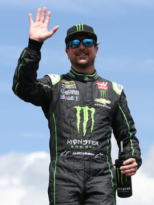 Monster Energy sponsored Cup driver Kurt Busch during the 2016 season.