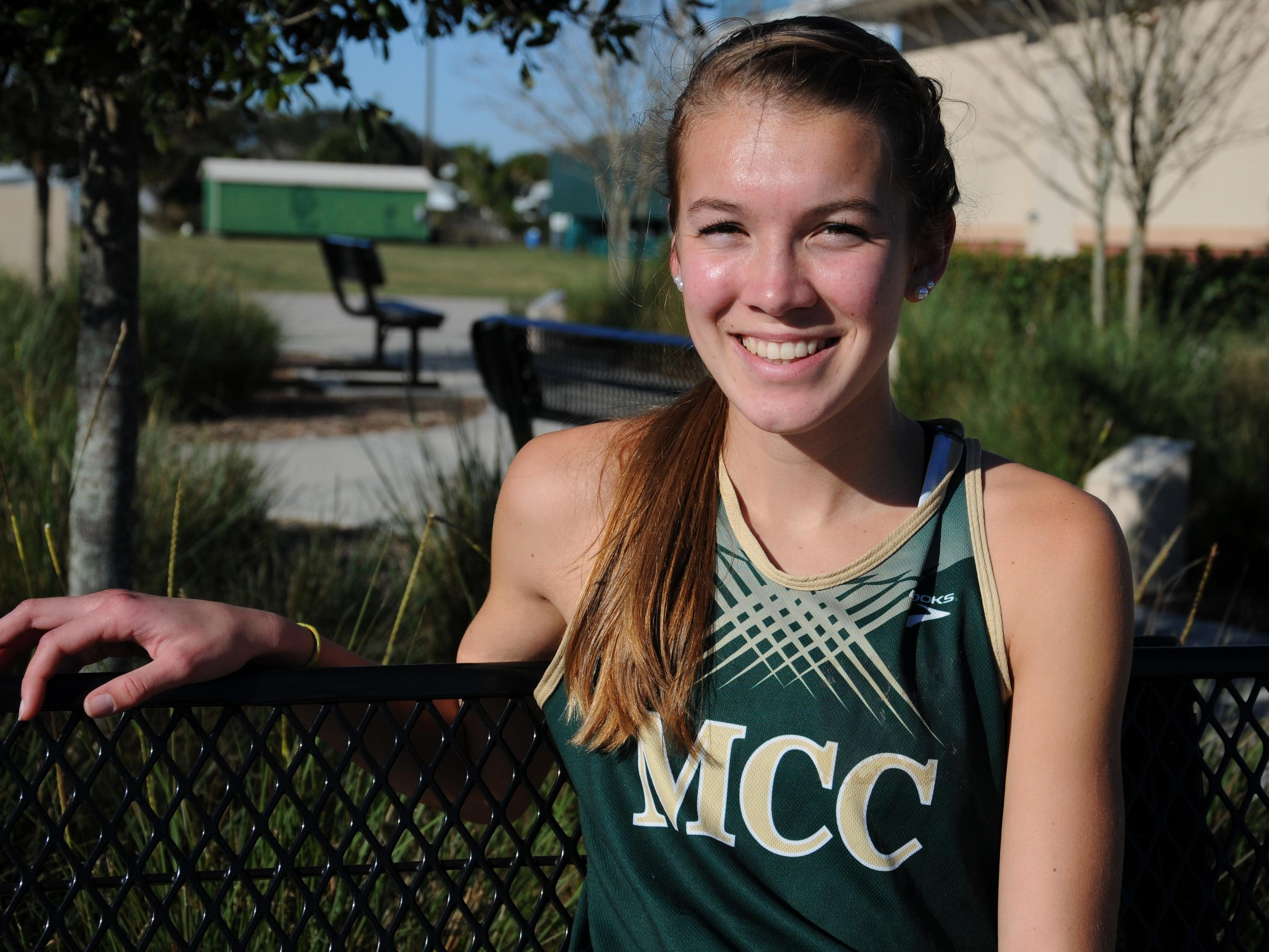 Amanda Beach of Melbourne Central Catholic is FLORIDA TODAY's Athlete of the Week for Oct. 10-16.