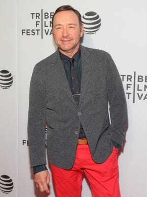 Kevin Spacey attends the 'Elvis & Nixon' world premiere screening during the 2016 Tribeca Film Festival.
