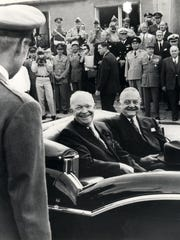 President Dwight D. Eisenhower and Ambassador Amory