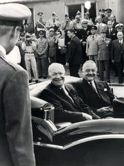 President Dwight D. Eisenhower and Ambassador Amory