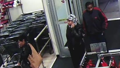 This trio allegedly stole merchandise from a local store.