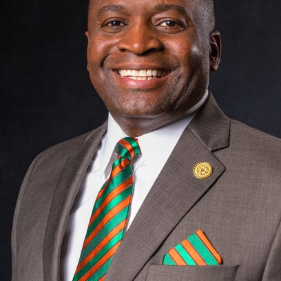 Lt. Col. Gregory Clark, president of the Florida A&M