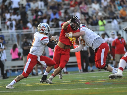 North-South Football Classic at Kean University in