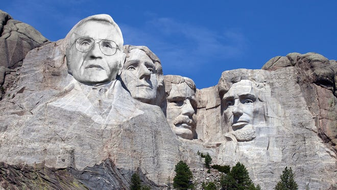 York philanthropist Louis Appell Jr. would hate the idea of Rushmore-like memorial. Renaming the Strand after him is much better.
