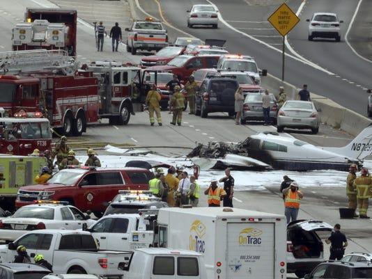 Freeway Plane Crash