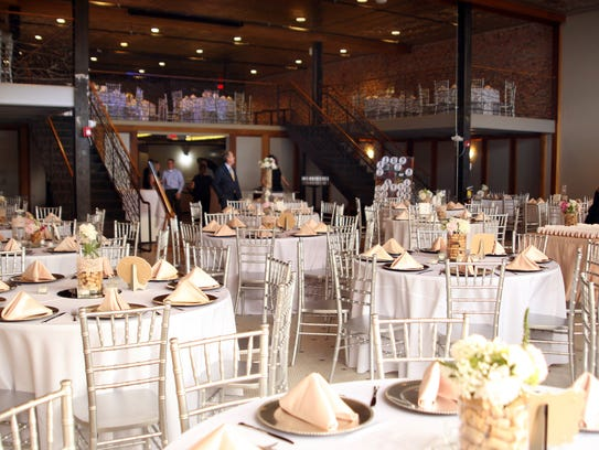 The elegant space at Bash Events & Catering is a great