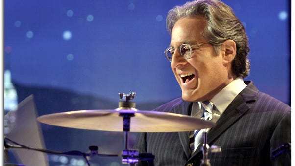 Max Weinberg: Busy off day from River Tour.