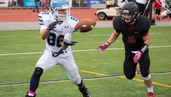 Wayne Valley's Jordan Montero shines in all three phases for the Indians as a wide receiver, safety and kicker.