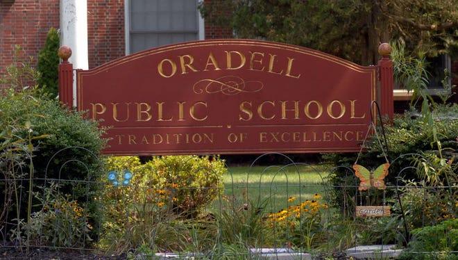 A file photo of Oradell Public School.