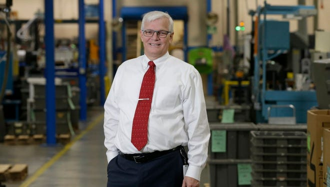 Richard Meeusen is only the fifth CEO in the 112-year-old history of Badger Meter Inc.