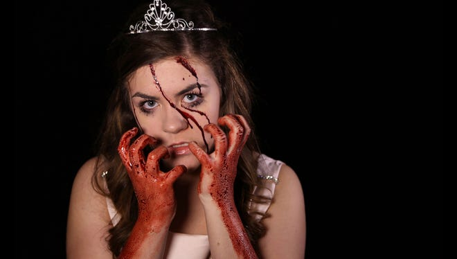 """Nicole Miller stars in the title role of """"Carrie: The Musical."""""""