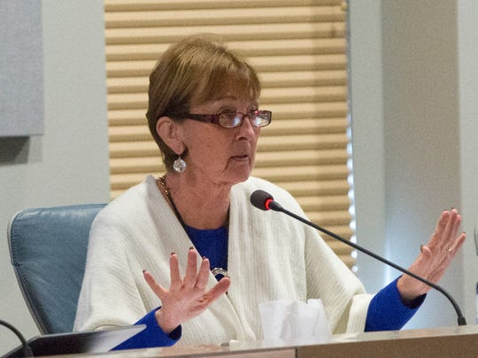 Las Cruces City Councilor Ceil Levatino on Tuesday