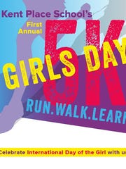Registration is open for the Kent Place School's Girls Day 5K run, walk and learn event Saturday, Oct. 14.