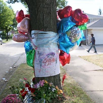Milwaukee officials have removed a curbside memorial for Sylville K. Smith, who was shot and killed by a police officer last month in the 3200 block of N. 44th St. The memorial in this photo is shown a week after his death.