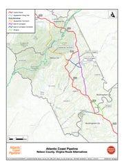 Alternative Dominion pipeline routes
