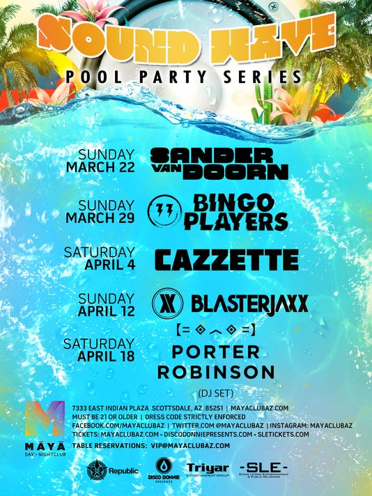 Soundwave Pool Party Series