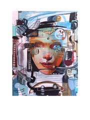 """A work by painter Yovani Caise that is part of Moremen-Moloney Contemporary's inaugural exhibit """"Cuban Art: Influence and Articulation."""""""