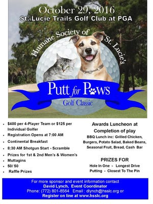 Putt for Paws