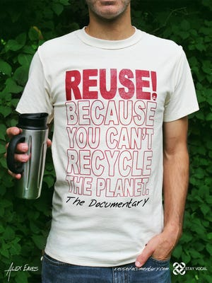"""The Salem Progressive Film Series will show """"REUSE! Because You Can't Recycle The Planet"""" 7 p.m. Tuesday, Nov. 15, at the Historic Grand Theatre."""
