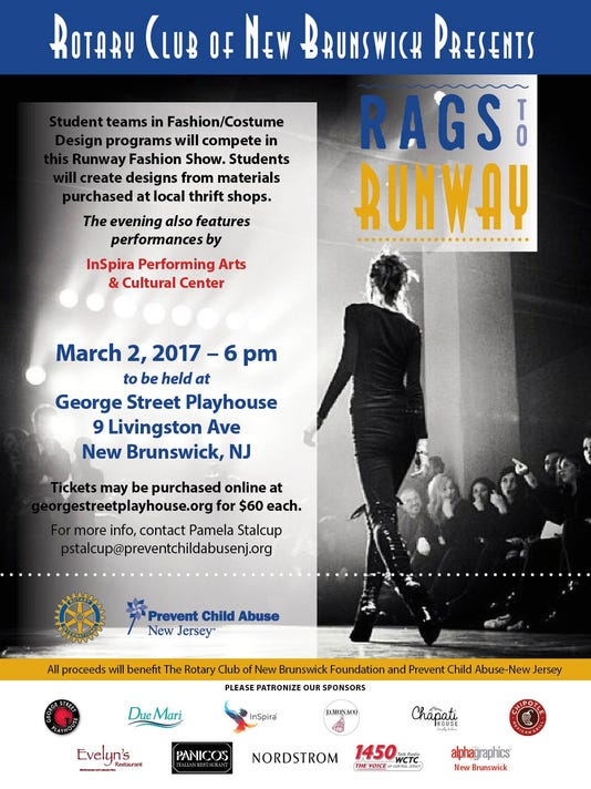 New Brunswick: Rags to Runway on March 2 PHOTO CAPTION