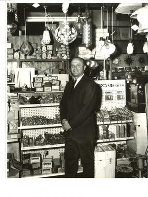 George Shuman spent decades working at the family business, Binghamton Fluorescent Co.