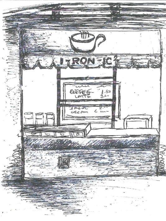 I-ron-ic sketch