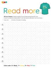 Those who complete 100 hours of reading over the summer are eligible for more prizes.