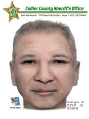 The Collier County Sheriff's Office released a composite