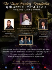 The 18th annual ImPact gala will be held on Friday, May 11, at the Renaissance Woodbridge Marriott Hotel, 515 Route 1, Iselin section of Woodbridge.