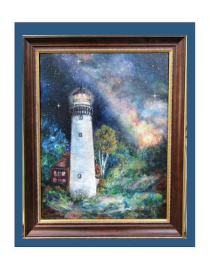 """Alison Beam-Hindman's """"Guiding Lights"""" will be on display at MutualBank."""