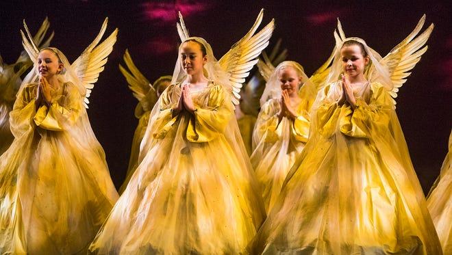 """Ballet Arizona's """"The Nutcracker"""" rehearses Thursday, December 11, 2014, at Symphony Hall in Phoenix."""