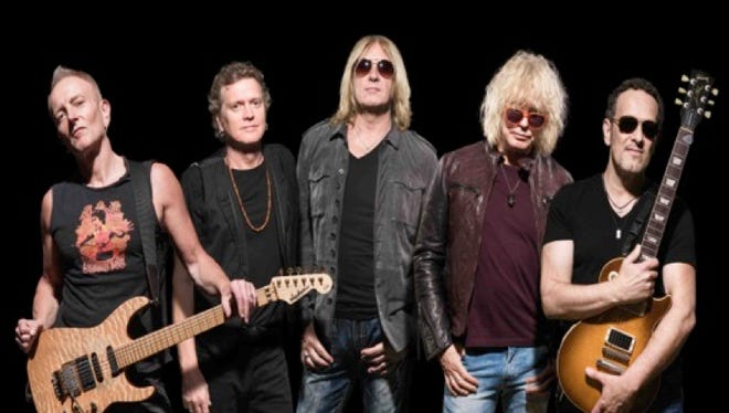 The band Def Leppard has a new, self-titled album out Oct. 30.