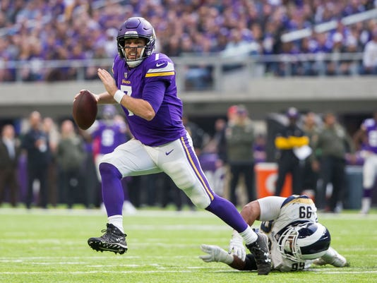 USP NFL: LOS ANGELES RAMS AT MINNESOTA VIKINGS S FBN MIN LAR USA MN