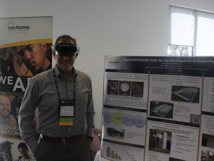 Ben Katko, a student at Los Alamos Engineering Institute